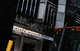 Niagara Mohawk Building side entrance