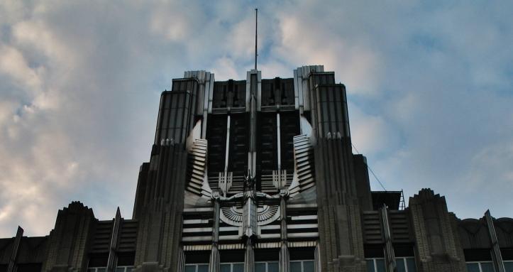 Niagara Mohawk Building statue