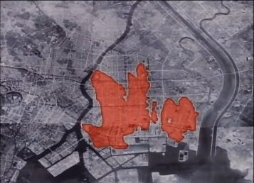 Tokyo firebomb damage map 4