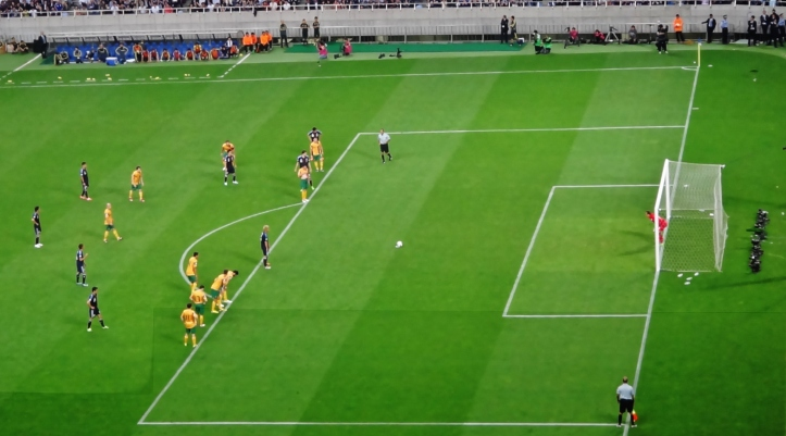 Honda penalty kick