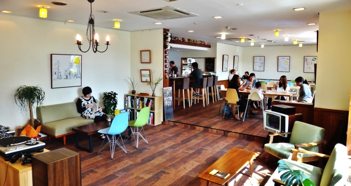 Kasukabe Living Room bar