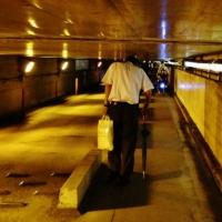 that tunnel near Shinagawa where you have to duck