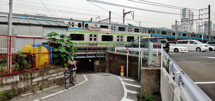 Shinagawa tunnel west