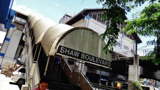 Manila Shaw Blvd MRT