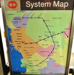 manila streetcar map