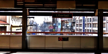 Libertada Station Platform Manila