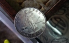 Philippine peso US dollar 1903 coin