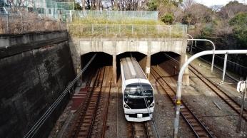 Shinanomachi tunnel