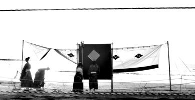 4. Yabusame Zushi beach setting target