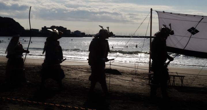7. Yabusame Zushi beach procession