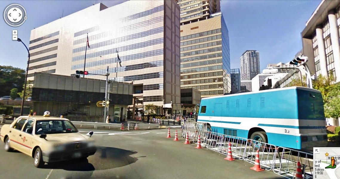 ICAS Event To Tohoku Rebuilding Japan US Embassy Housing III - Us embassy tokyo map