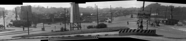 Akasaka Mitsuke 1949 intersection