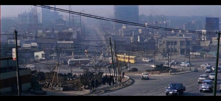 Akasaka Mitsuke intersection 1963
