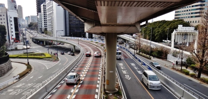 Akasaka Mitsuke intersection 2013