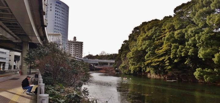 Benkeibashi canal Hotel New Otani