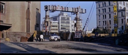 Detective Bureau 1963 film Nagatacho construction