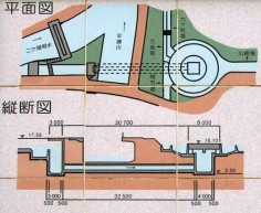 ento-bunsui cross-section plan