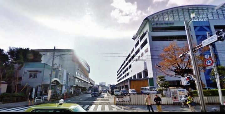 Kachidoki gate Tsukiji fish market