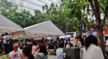 Keyaki Hiroba Spring Beer Festival day