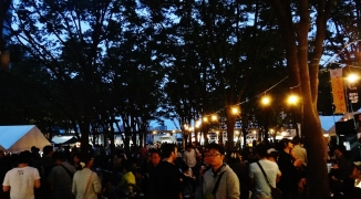Keyaki Hiroba Spring Beer Festival night 1