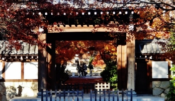 Koenji temple entrance
