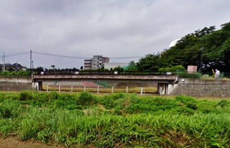 Nogawa flood control tennis court