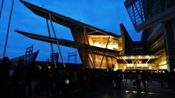 Saitama Super Arena crowd line