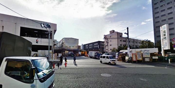 Seika gate Tsukiji fish market