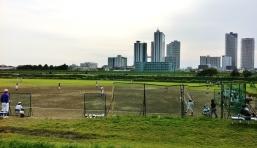Tamagawa baseball musashi kosugi skyline