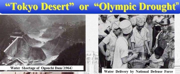 Tokyo Olympics 1964 Desert Drought