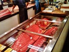 Tsukiji fish market freezer