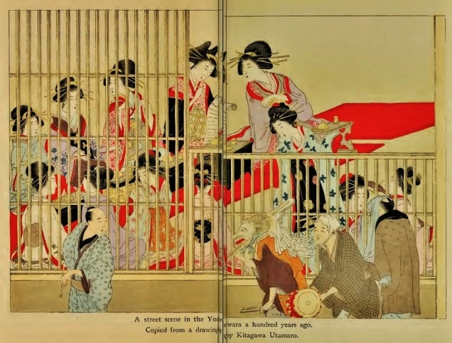 Yoshiwara bordello women 1800
