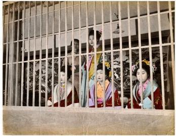 Yoshiwara Tokyo Bordello Prostitutes 1890s