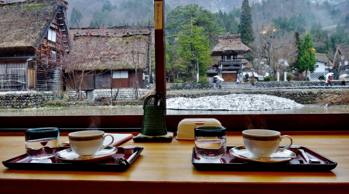 The best coffee in Japan & surviving Shirakawa