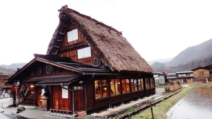 Shirakawa cafe coffee shop