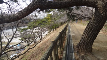 Yotsuya walking path