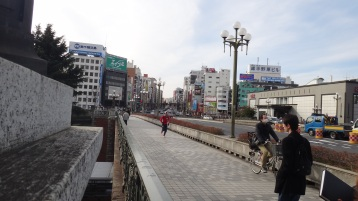 Sophia Yotsuya path bridge