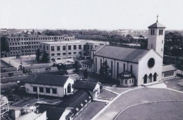 St. Ignatius Church Sophia Tokyo 1955