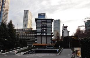 Hotel Okura, from the side