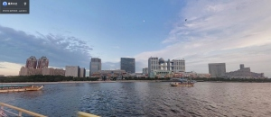 Odaiba from the water 2014