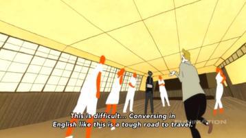 Tatami Galaxy English Conversation Circle 1