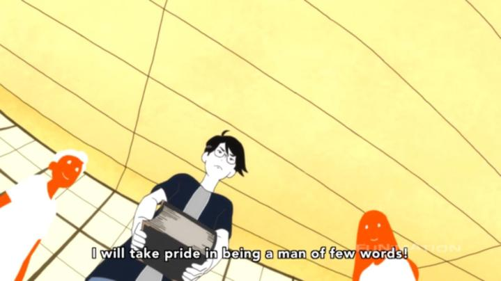 Tatami Galaxy English Conversation Circle 10