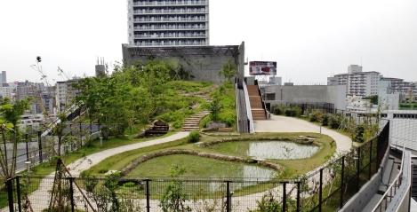 Meguro Sky Garden drainage pool