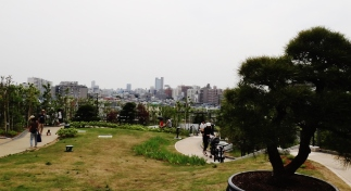 Meguro Sky Garden rooftop view