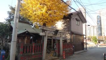 Tsukudajima fishing Tokyo shrine