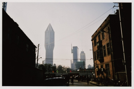 Colonized by the future: Shanghai under construction, 2003