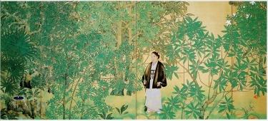 Kodansha museum bamboo grove woman Tokyo