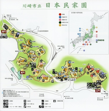 Japanese home museum Kawasaki map