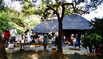 Kawasaki open air folk house craft exhibit