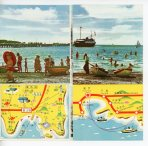 Tateyama brochure beach folded